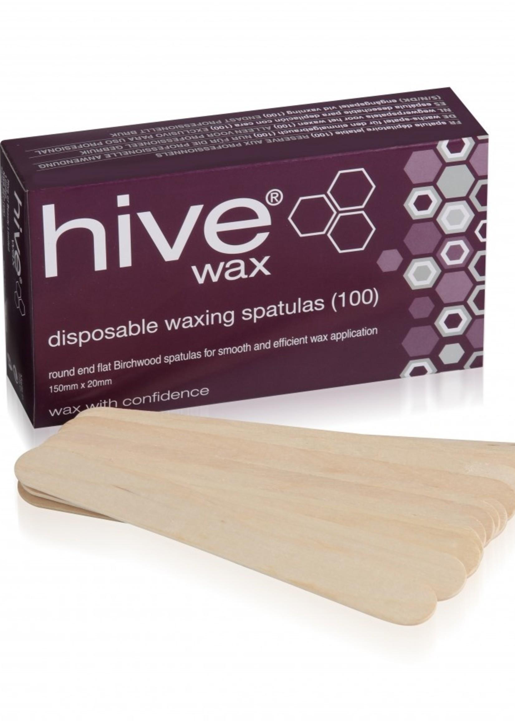 Hive of Beauty Wax Wax Applicator Spatulas  2cm 100 pieces