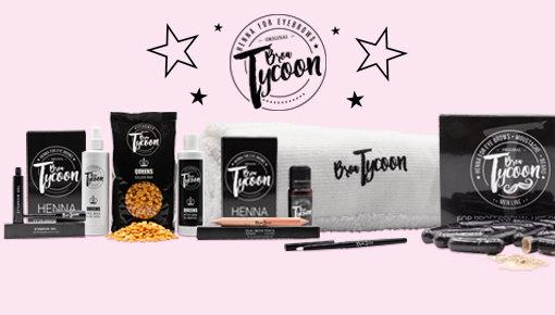 BrowTycoon Brow Henna Augenbrauen Produkte