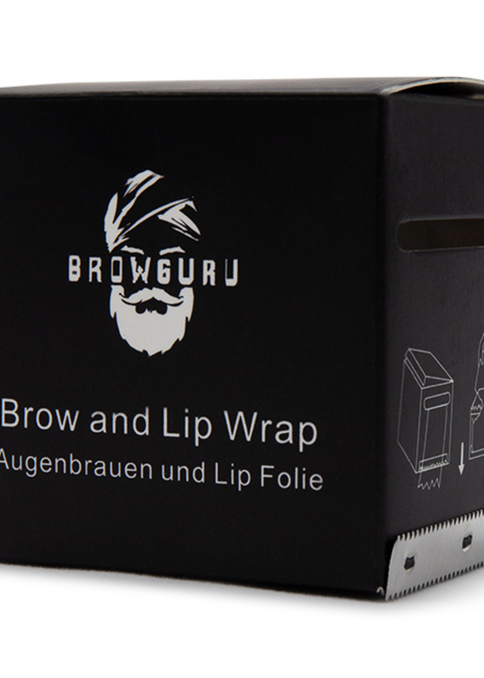 Browguru® Augenbrauen und Lip Folie