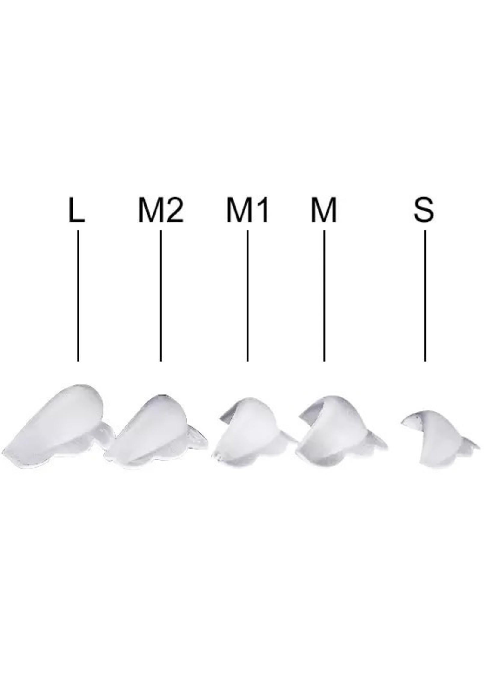 Lash Candies® Silicone Rods 5 paar Ronde Vorm 5 Paar Maten S, M, M1, M2, L