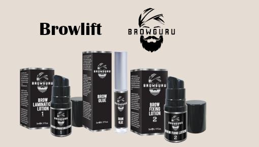 Browlifting Augenbrauenlaminierung  Produkte