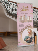 Lash Candies® Roll up Banner Schulung