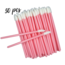 Lash Candies Lipgloss Applicator Pink 50 Pieces