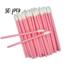 Lash Candies® Lipgloss Applikator Pink 50 Stück