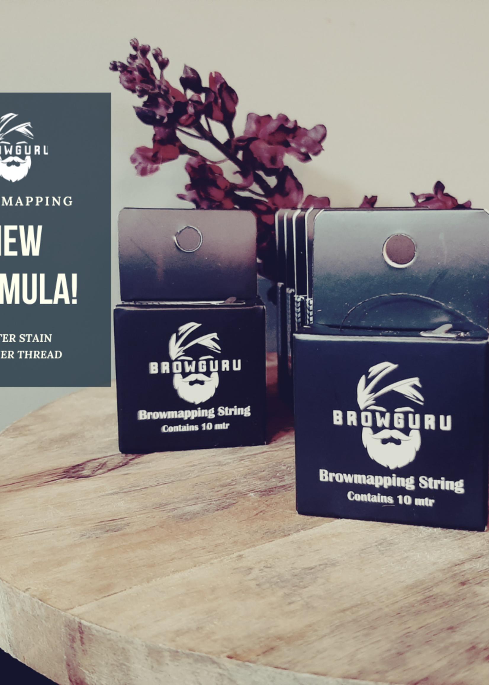 Browguru® Brow Mapping/Vorgefärbter Faden