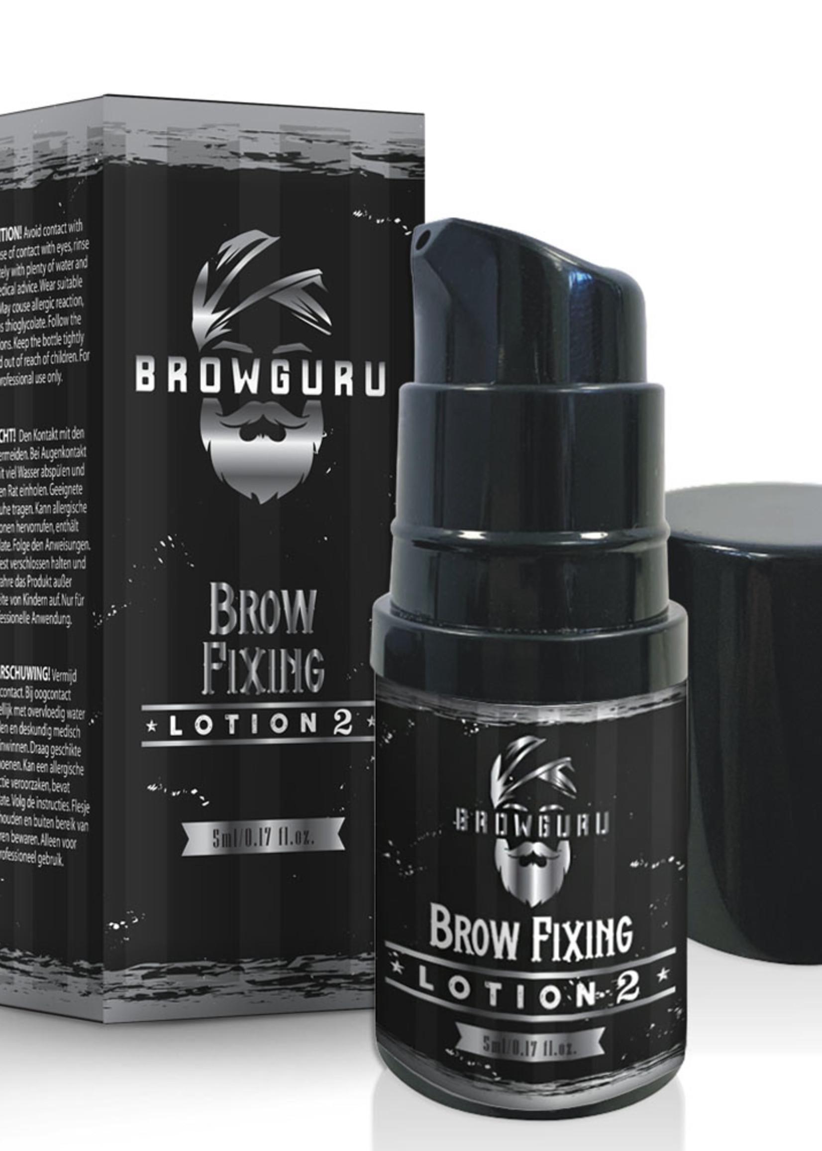 Browguru® Brow Lamination Fixing Lotion 2  5ml