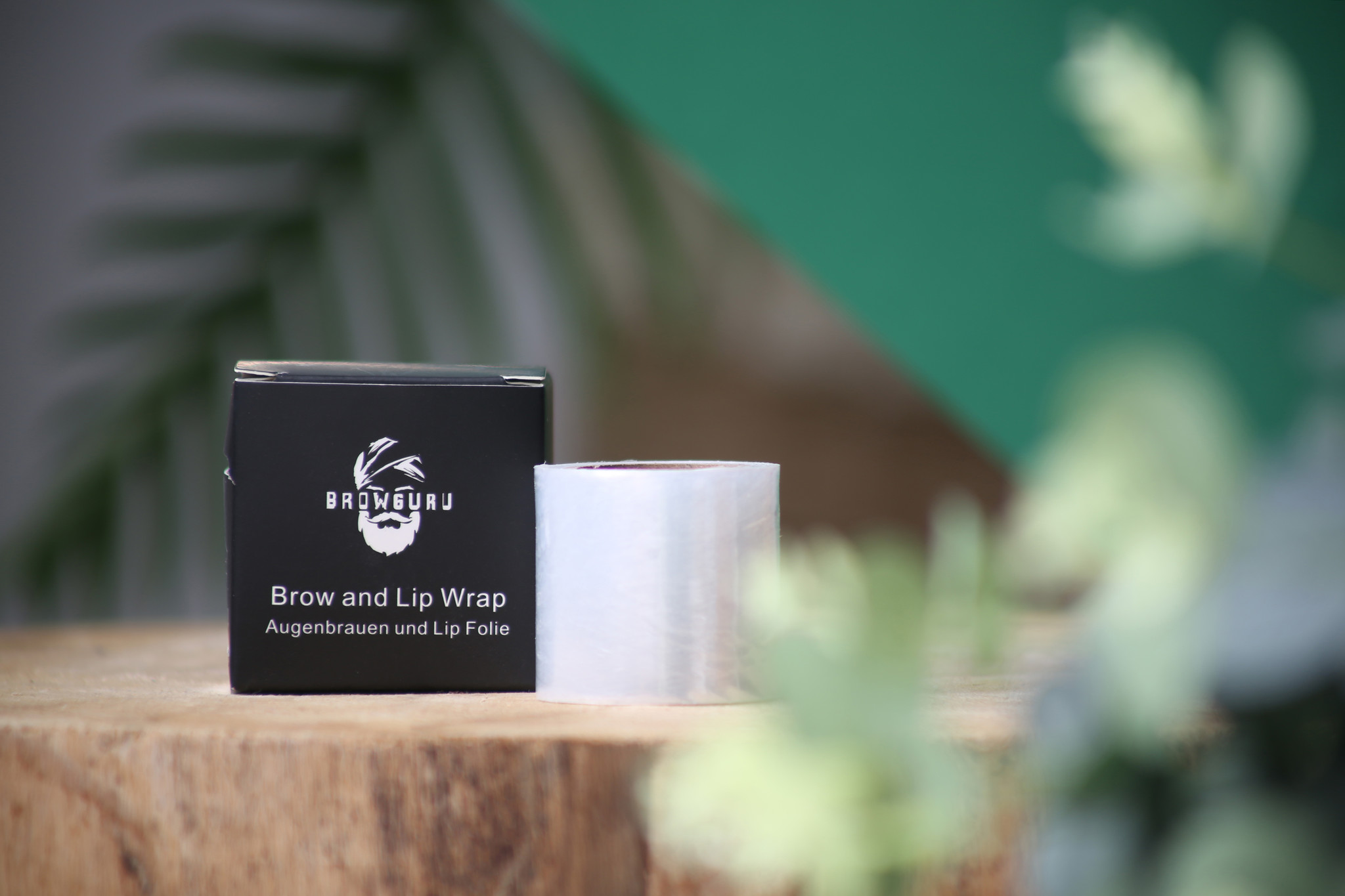 Wenkbrauwen fixeren gemakkelijk en eenvoudig met de Browlift Brow & Lip Wrap van Browguru