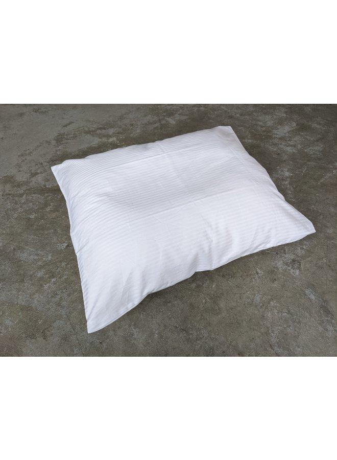 Pillow Case White Stripes