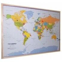 Welt- und Länderkarten von Kork