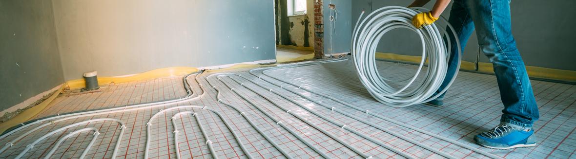 Korkboden und Fußbodenheizung - Immer ein warmer Korkboden
