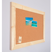 Pinnwand aus Kork - farbiger Gerüstholzrahmen - Maßanfertigung custom