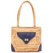 Handtasche aus Kork - Leiria blau
