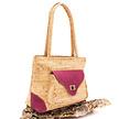 Handtasche aus Kork - Elvas rosa