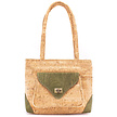 Handtasche aus Kork - Sintra grün