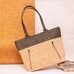 Handtasche aus Kork - Verde