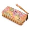 Große Brieftasche aus Kork - Rainbow