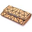 Portemonnaie aus Kork - Geometrischer Chic