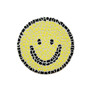 Cristallo Mosaik Bastelset Wandschilder Smiley