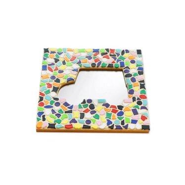Cristallo Mosaik Bastelset Spiegel Auto Vario