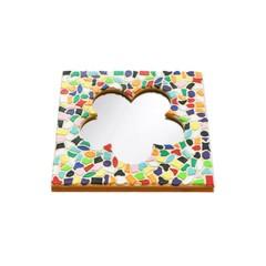 Cristallo Mosaikbastelset Spiegel Blume Vario