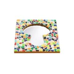 Cristallo Mosaikbastelset Spiegel Erdschwamm Vario