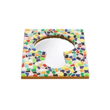 Cristallo Mosaik Bastelset Spiegel Erdschwamm Vario