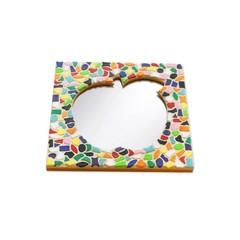 Cristallo Mosaikbastelset Spiegel Apfel Vario