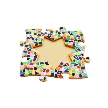 Cristallo Mosaik Bastelset Bilderrahmen Vario Stern