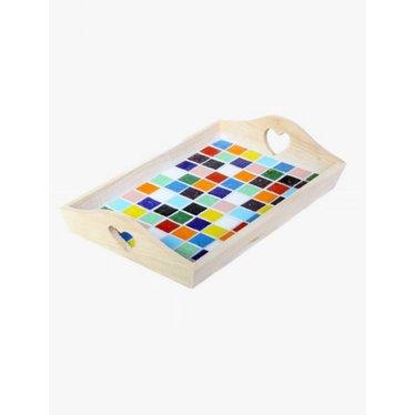 Cristallo Mosaik Bastelset Tablett MINI nr. 1