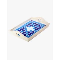 Cristallo Mosaikbastelset Tablett MINI nr. 5