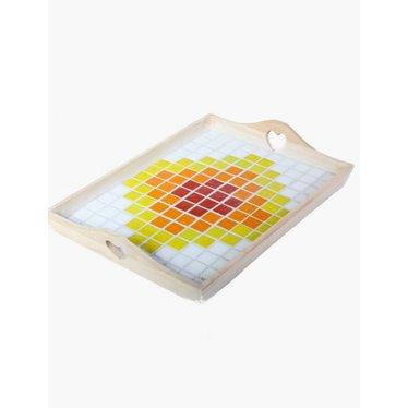 Cristallo Mosaik Bastelset Tablett MAXI nr. 4