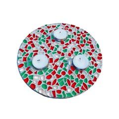 Cristallo Mosaikbastelset Teelichthalter Weihnachten