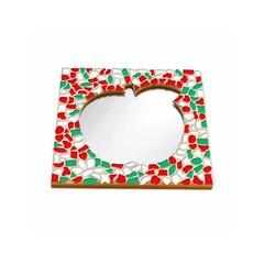 Cristallo Mosaikbastelset Spiegel Apfel Weihnachten