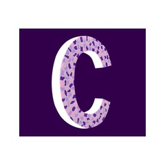 Cristallo Zart, Buchstabe C