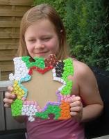 Kinderfest Mosaik Bilderrahmen