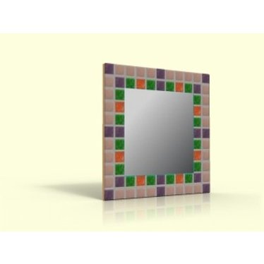 Cristallo Bastelset Mosaikspiegel Basic 02