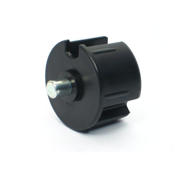 Deltadoors DPP50 Buisprop voor aluminium buis 50mm met pen 12mm
