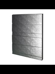 Crawford Crawford deurpaneel 342 Aluminium 42x500 mm