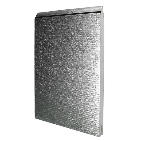 Crawford Crawford deurpaneel 542 Aluminium 42x600 mm