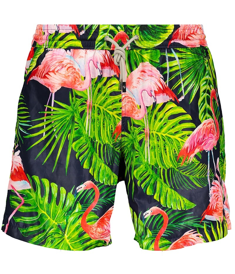 Men's Swim Shorts Flamingo Blue-2