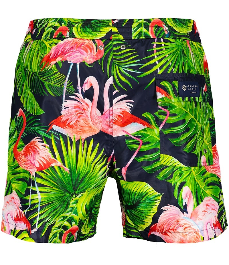 Men's Swim Shorts Flamingo Blue-3