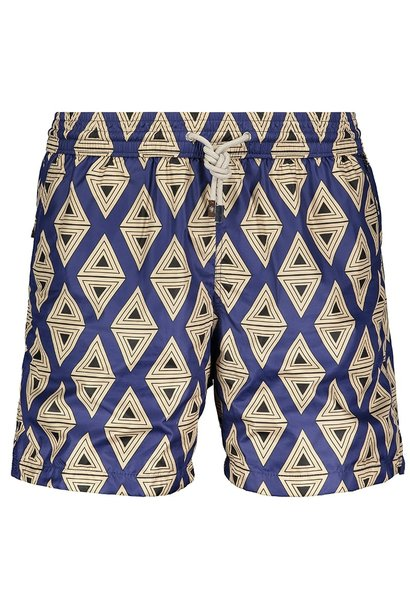 Men's Swim Shorts Triangle Blue
