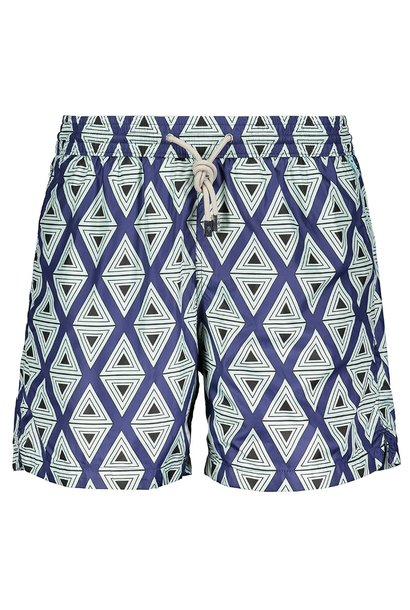 Men's Swim Shorts Triangle Light Blue