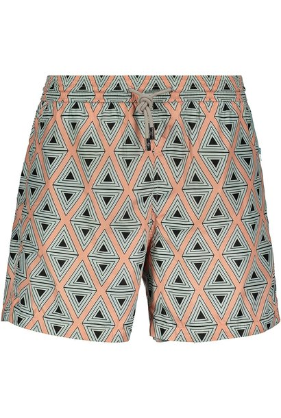 Men's Swim Shorts Triangle Coral