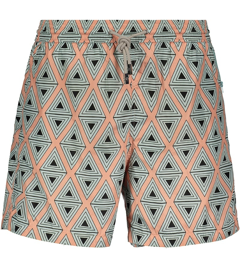 Men's Swim Shorts Triangle Coral-2