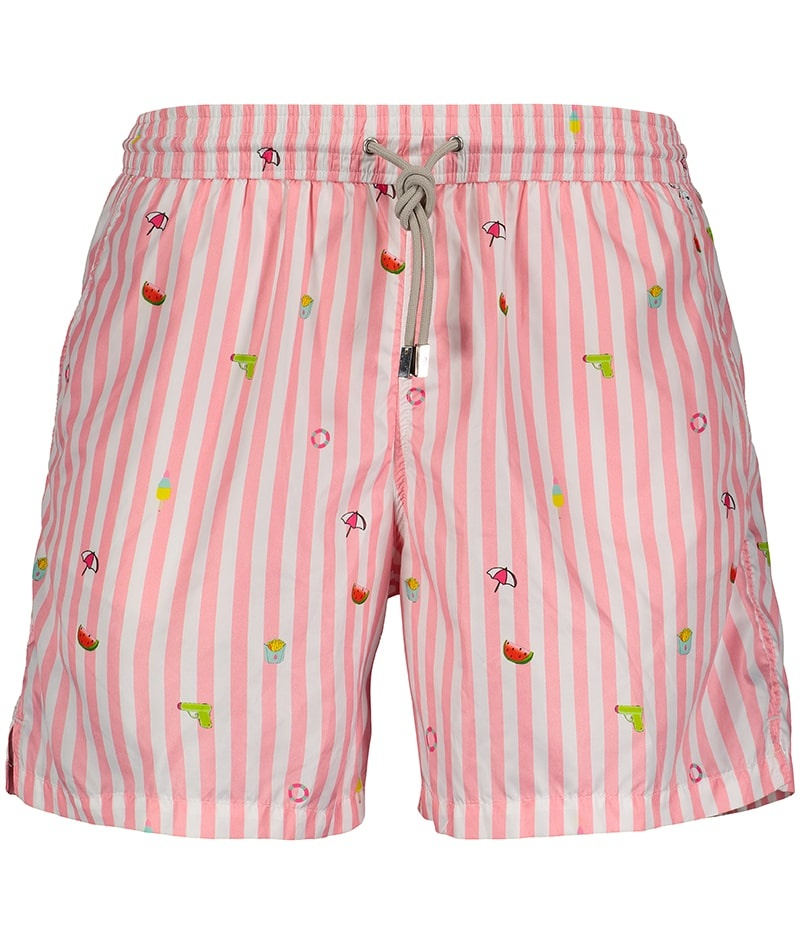 Men's Swim Shorts Badi Edition Pink-1