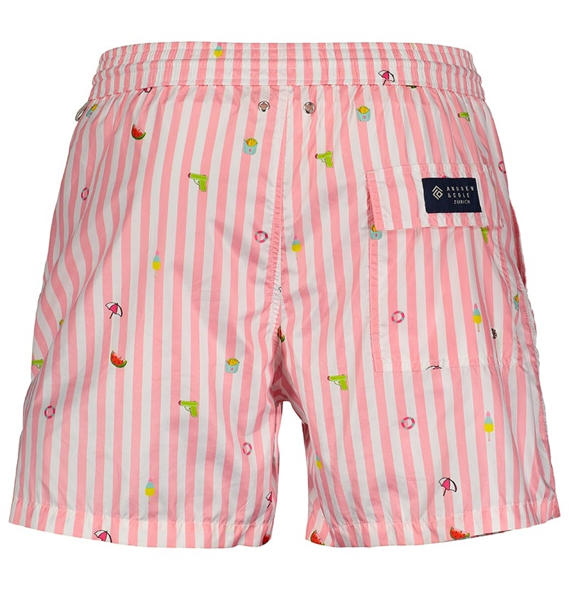 Men's Swim Shorts Badi Edition Pink-2