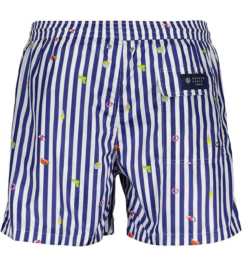 Men's Swim Shorts Badi Edition Blue-2