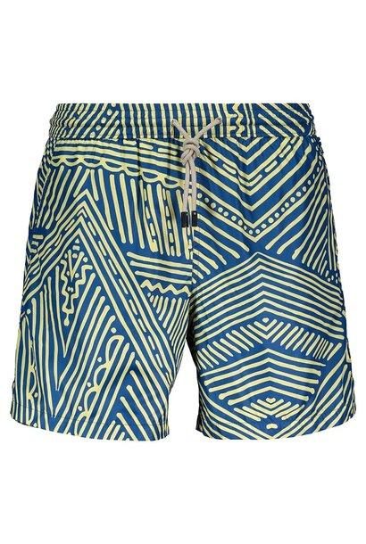 Men's Swim Shorts Africa Blue