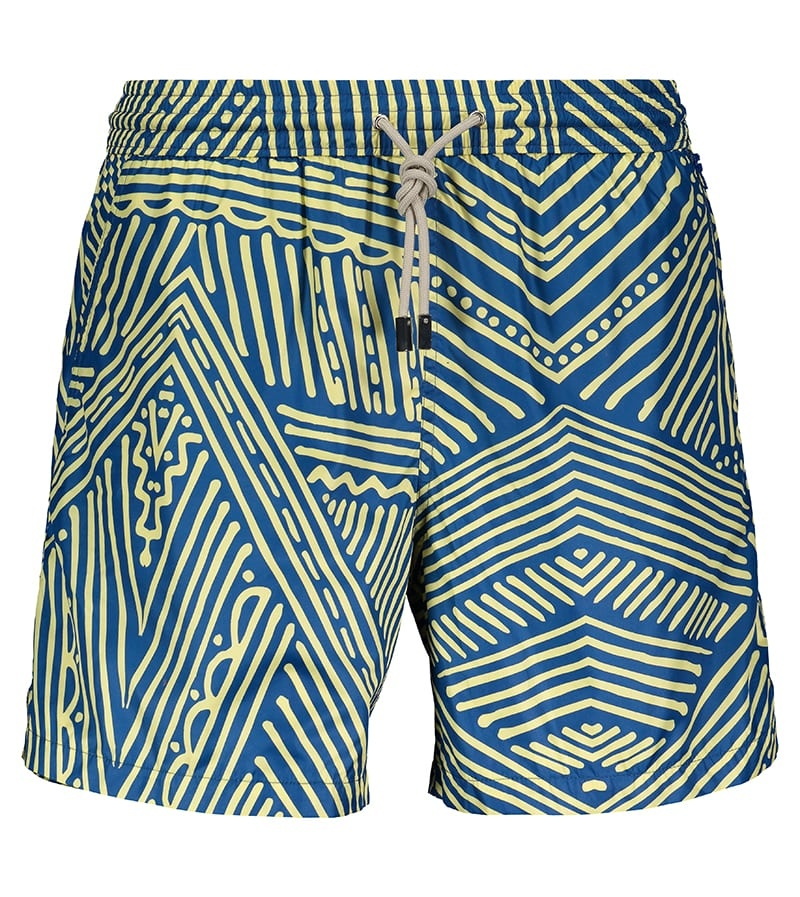 Men's Swim Shorts Africa Blue-2